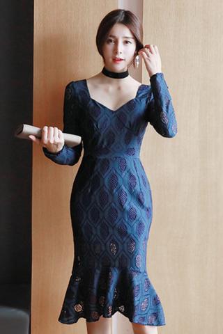 INSTOCK - Tissa Fish Tail Dress