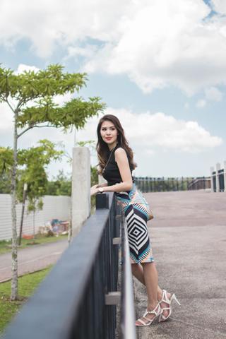 INSTOCK - Marisol Printed Pencil Skirt