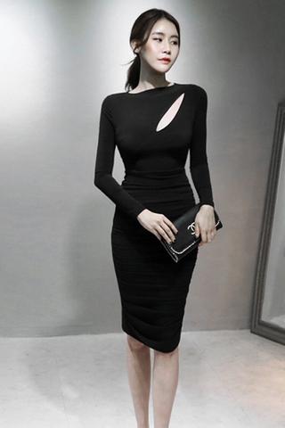 INSTOCK - Albrina Bodycon Sleeve Dress