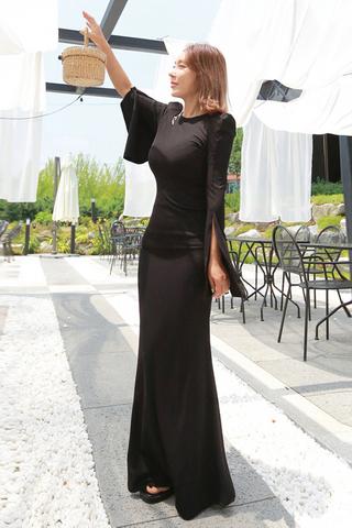 BACKORDER - Hasley Slit Sleeve Maxi Dress