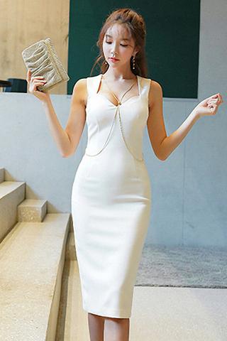 BACKORDER - Vaeria Bustier Sleeveless Dress