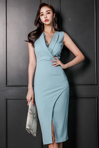 INSTOCK - Rarvin Lace Sleeveless Dress