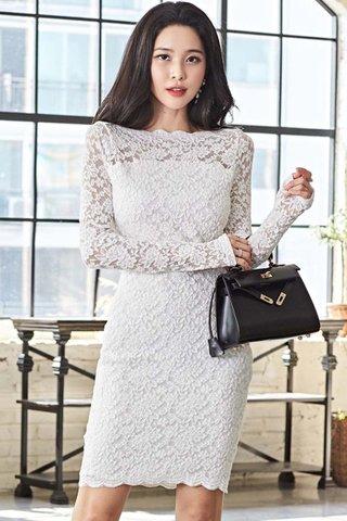 BACKORDER - Natlie Floral Lace Overlay Dress