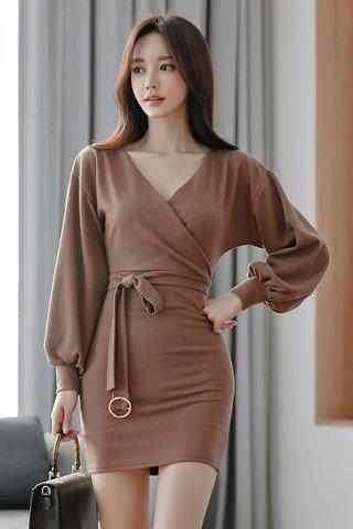 BACKORDER - Evie Puff Sleeve Mini Dress