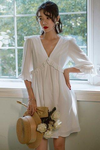 BACKORDER - Pamdra Deep V-Neck Dress