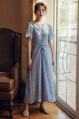BACKORDER - Shauna Sleeve Ruched Dress