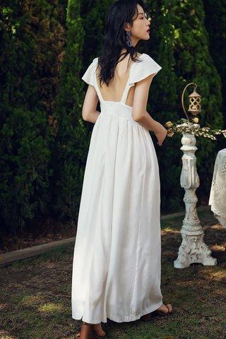 BACKORDER - Elosie V-Neck Bareback Dress