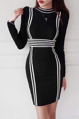 BACKORDER - Shura Sleeve Knit Dress