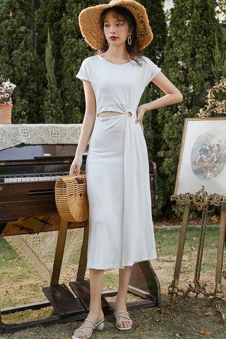 BACKORDER - Trinita Sleeve Cutout Dress