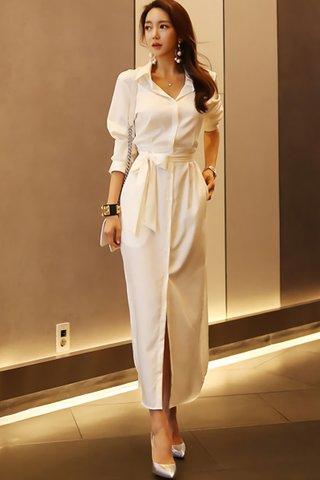 BACKORDER - Adriane Sleeve Shirt Dress