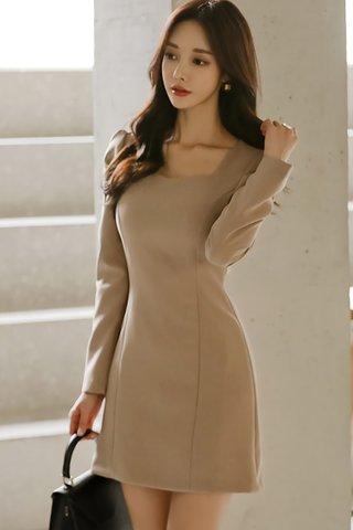BACKORDER - Alyse Sleeve Mini Dress
