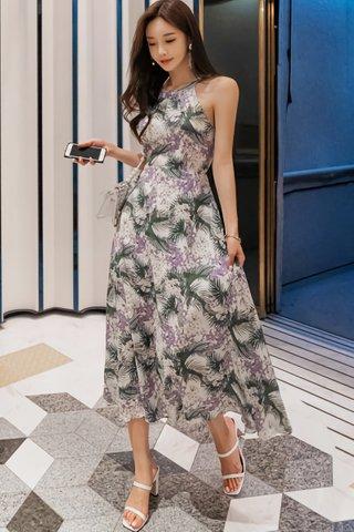 BACKORDER - Auguste Sleeveless Printed Dress