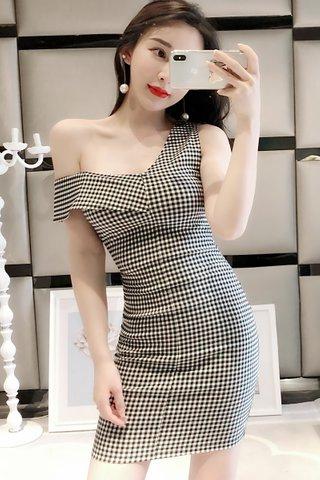 BACKORDER - Briae One Shoulder Dress