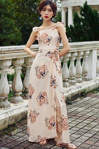 BACKORDER - Brinita Floral Print Maxi Dress