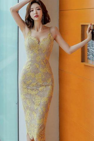 BACKORDER - Brylin Floral Lace Dress