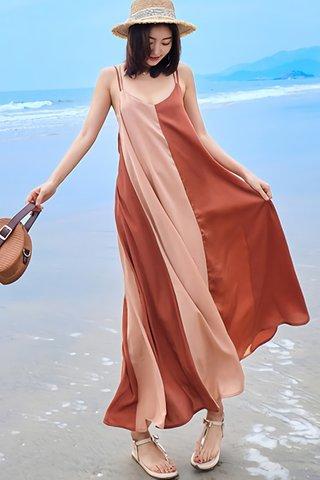 BACKORDER - Kailey Sleeveless Colorblock Dress