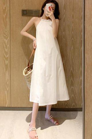 BACKORDER - Sahera Halter Neck Sleeveless Dress