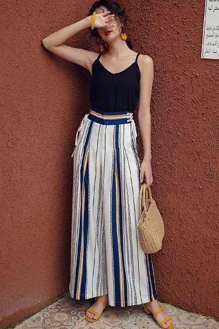 INSTOCK - Cesina High Waist Stripe Pant