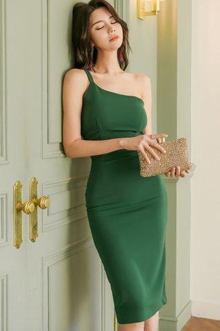 BACKORDER - Jotane One Shoulder Dress