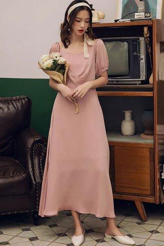 BACKORDER - Krina Sleeve Back Tie Dress