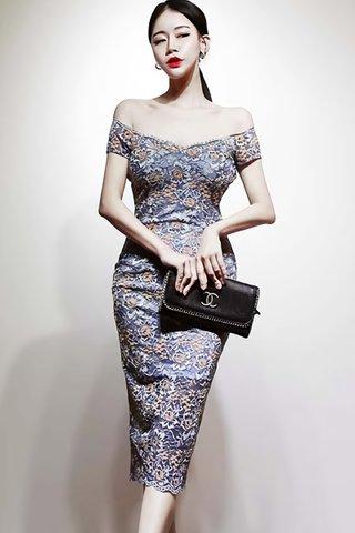BACKORDER - Neliane Off Shoulder Lace Dress