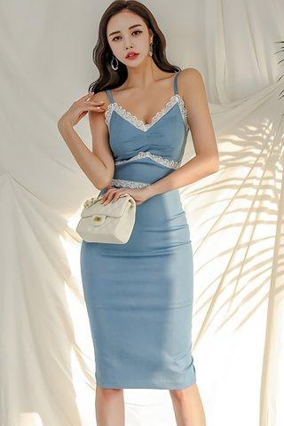 BACKORDER - Verana V-Neck Sleeveless Dress