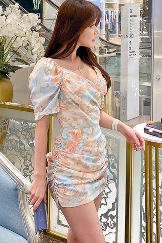 BACKORDER - Jacee Floral Print Mini Dress