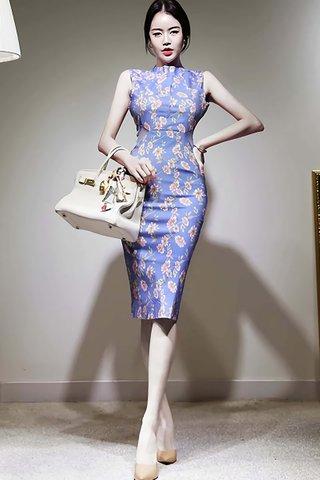 BACKORDER - Kathea Floral Bareback Dress