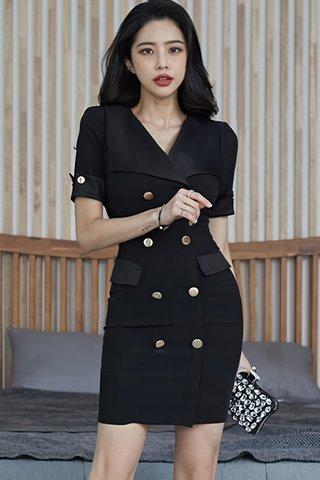 BACKORDER - Kelcy Double Breasted Mini Dress