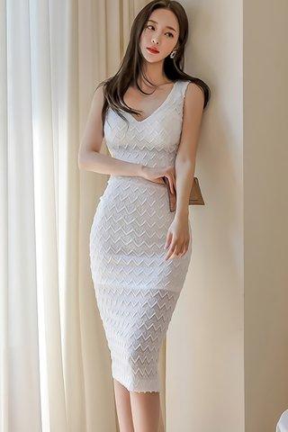 BACKORDER - Alenia Sleeveless V-Neck Dress