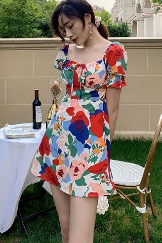 BACKORDER - Caelin Floral Print Dress