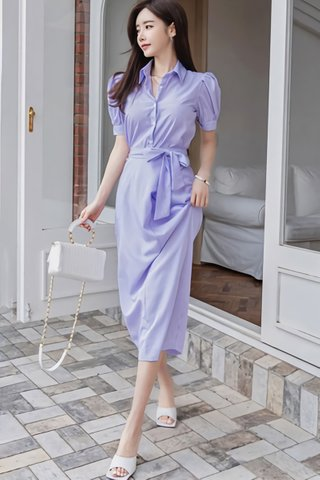 BACKORDER - Cinvis Pinstripe Top With Skirt Set