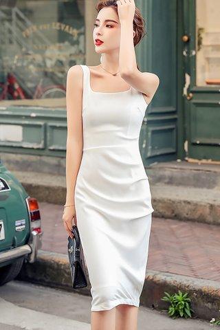 BACKORDER - Meysan Square Neck Dress