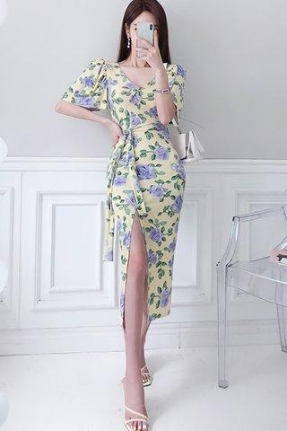 BACKORDER - Regisa Floral Sleeve Dress