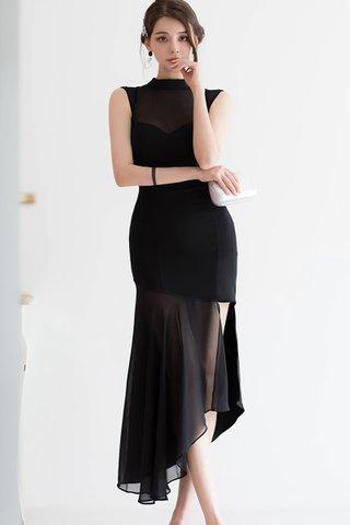 BACKORDER - Reyer Mesh Asymmetrical Dress