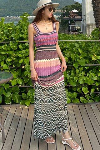 BACKORDER - Velisa Knit Sleeveless Dress