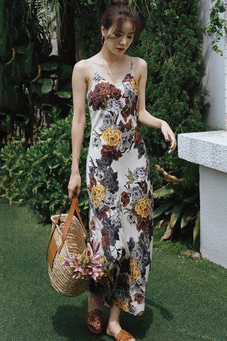BACKORDER - Cierra V-Neck Floral Dress