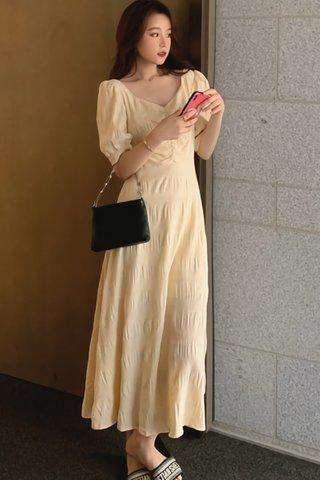 BACKORDER - Elvissa Back Criss Cross Dress (Long)