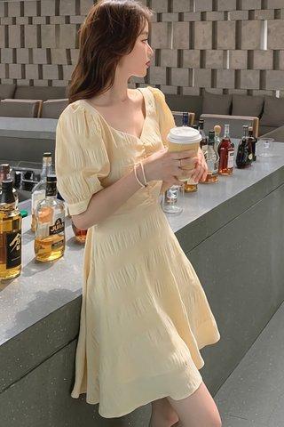 BACKORDER - Elvissa Back Criss Cross Dress (Short)