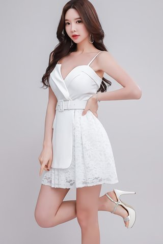 INSTOCK - Kalee Cut Out Lace Dress