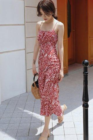 BACKORDER - Kelleo Sleeveless Midi Dress