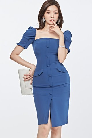 BACKORDER - Ralyoe Single Breasted Dress
