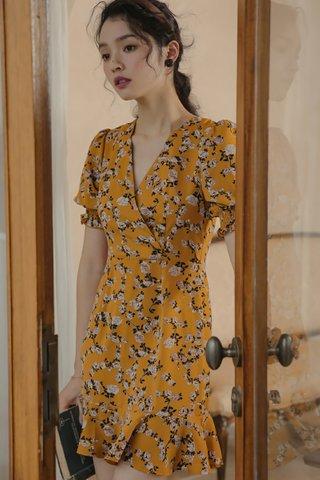 BACKORDER - Vassie Floral Mini Dress