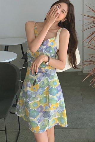 BACKORDER - Vrina Floral Mini Dress