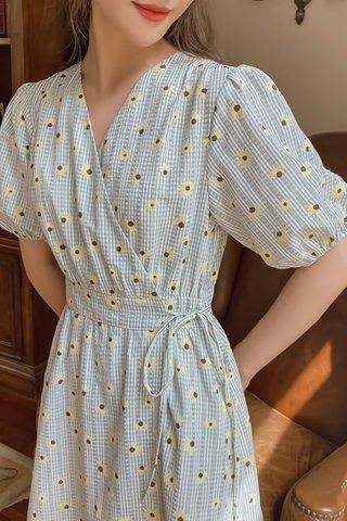 BACKORDER - Wayna Floral Side Tie Dress