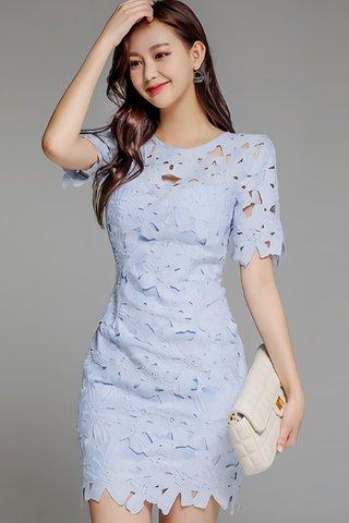BACKORDER - Almana Crochet Mini Dress