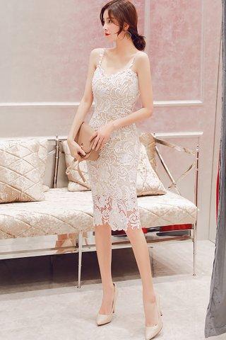 INSTOCK - Charlyn Crochet Overlay Dress