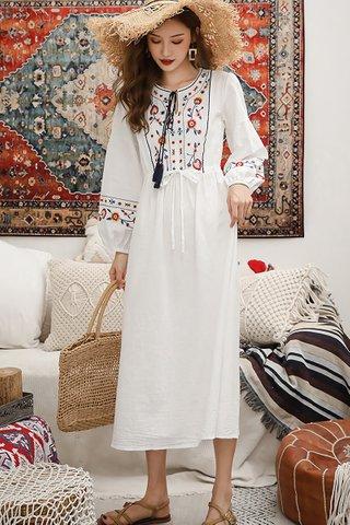 BACKORDER - Cherise Embroidery Oversized Dress