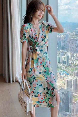 INSTOCK - Jaryl Floral Wrap Dress
