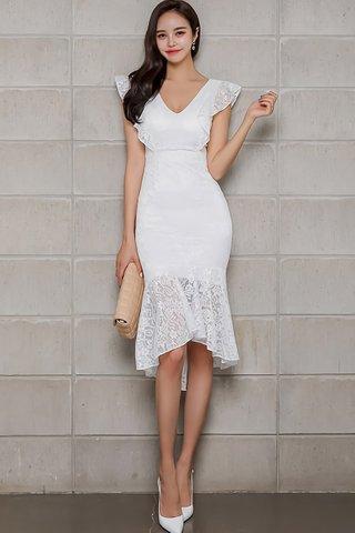BACKORDER - Jerica V-Neck Lace Dress